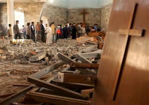 destrucción de iglesias cristianas en irak