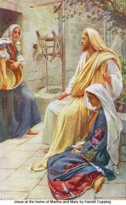 Jesus Mary Martha 2