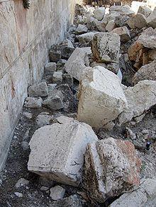 no quedara piedra sobre piedra