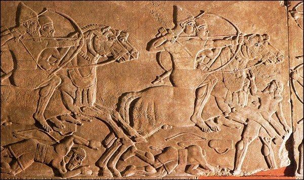 relieve asirio