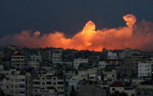 gaza-muerte y fuego