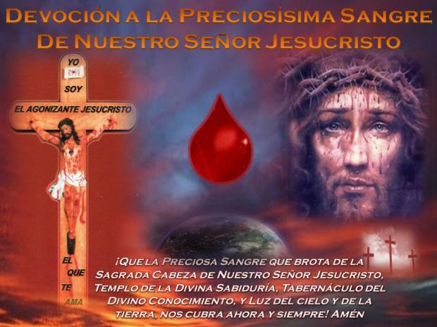 devocion a la preciosa sangre de cristo