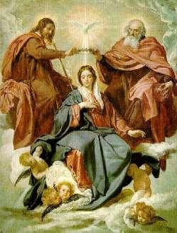 La Coronación de Maria Santisima_