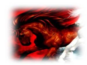 jinete rojo