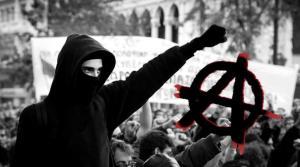 anarquia anarquismo manifestante