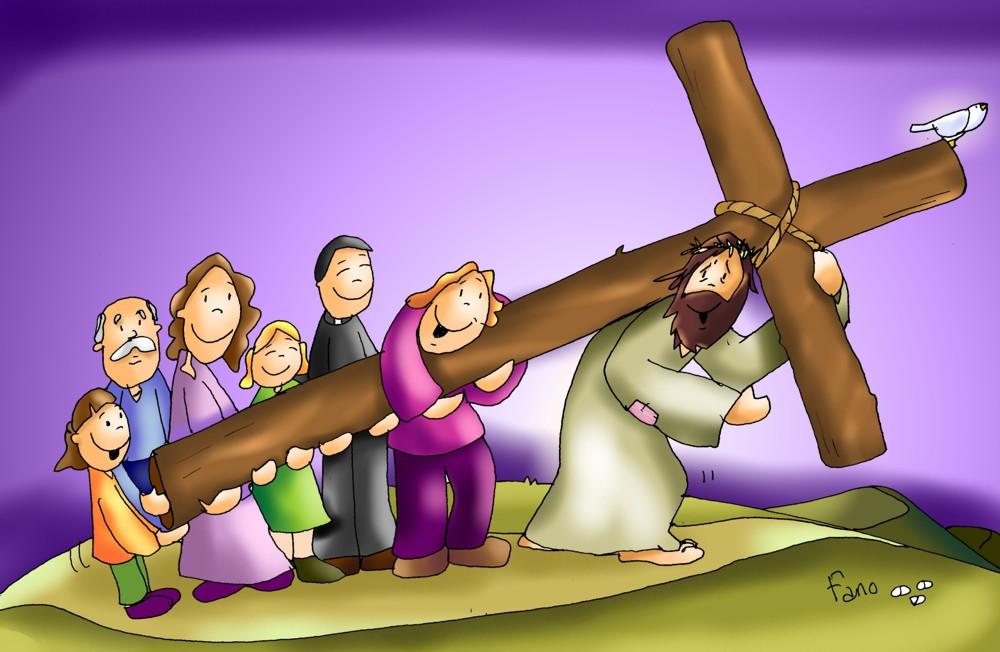 carguemos la cruz