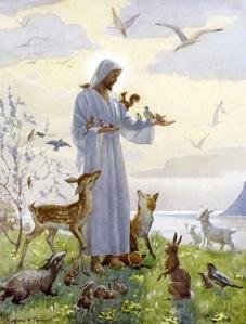 christ-with-animals
