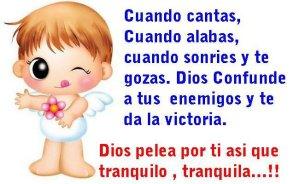Dios pelea por ti