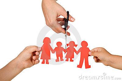 efecto-del-divorcio-sobre-concepto-de-los-cabritos-15366169