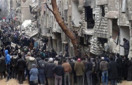 hambre, el arma más fuerte de la guerra en siria