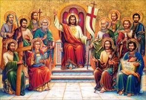 Jesús, Rey de los Apóstoles