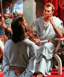 JESUS ANTE PILATOS
