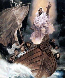 JESUS DETIENE LA TORMENTA
