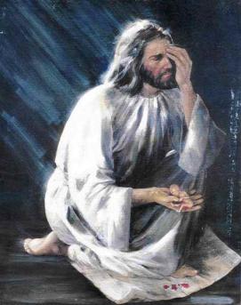 jesus llora por el aborto