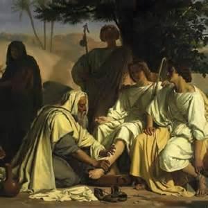VISITANDO A ABRAHAM