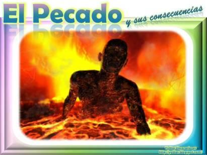 consecuencia del pecado es el infierno