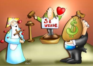 decision entre materialismo y amor dios y dinero