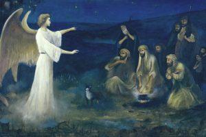 Angel-Announcing-the-Birth-of-Christ-to-Shepherds-Robert-Leinweber