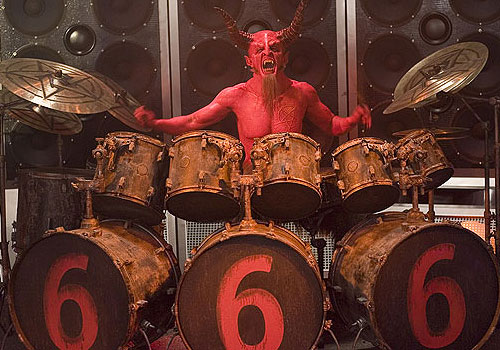 Dave Grohl as Satan in 'Tenacious D in The Pick of Destiny'