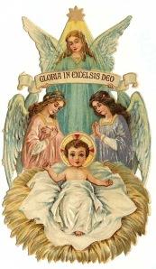 free-vintage-christmas-angels-baby-jesus-clip-art