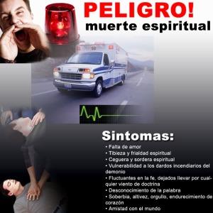 peligro muerte espiritual