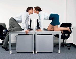 romance en la oficina