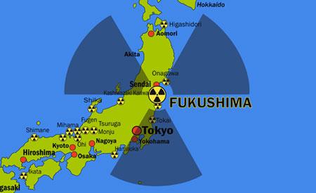 FUKUSHIMA RADIOACTIVIDAD