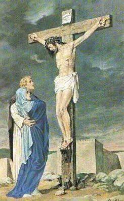 jesus entrega a maria alhombre