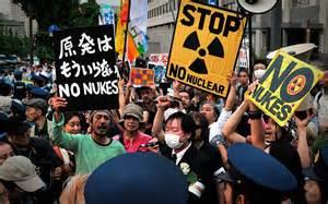 PROTESTA JAPONESA
