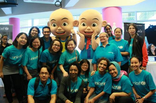 UNICEF_Malaysia_Team