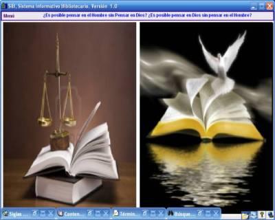 SiB_Ventana_Balanza de Justicia y la Biblia