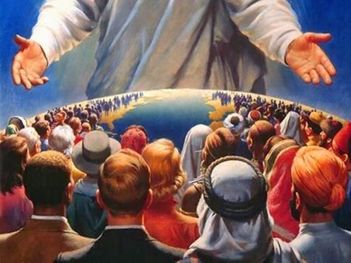 vinda de cristo salvador 2014 jesus