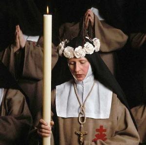 Profissao de uma religiosa Vitima do Sagrado Coraçao de Jesus, França