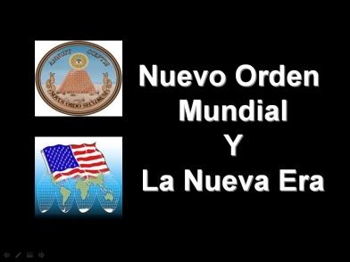 nuevo orden y nueva era