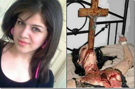 joven cristiana martirizada en irak