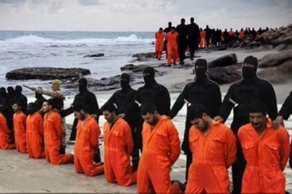 martirio coptos