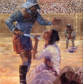 martirio de santa perpetua
