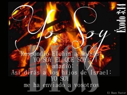 ÉXODO 3_14 YO SOY
