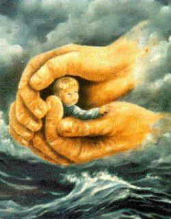 en manos de dios