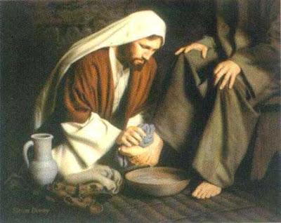Jesús humilde