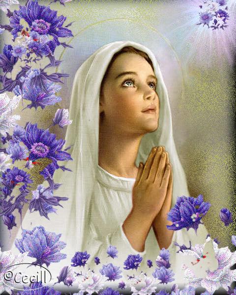 Marìa orando