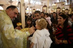 cristianos de damasco en siria