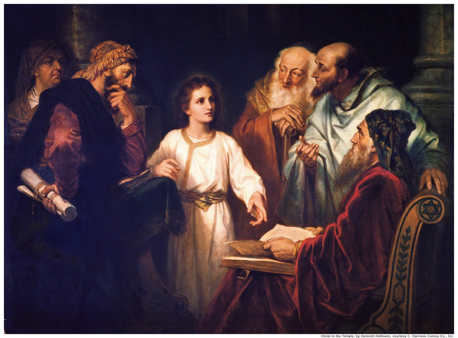 jesus en el templo