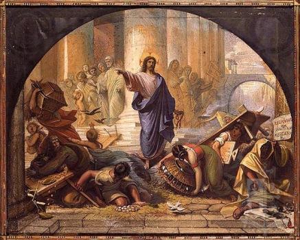 Jesus expulsa os vendilhões