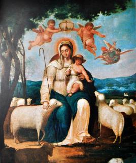 Primera-imagen-que-se-conoce-de-la-Divina-Pastora_-Juan-Lovera-1820