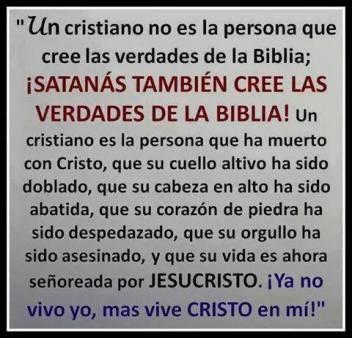 UN CRISTIANO ES