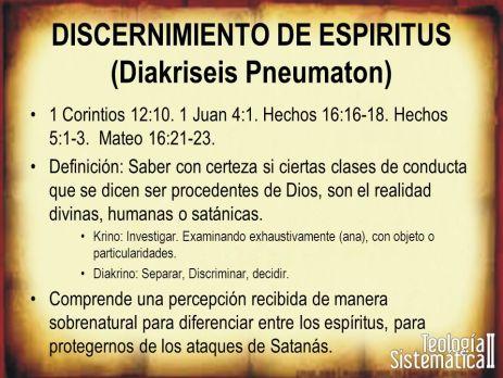 discernimiento