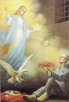 martirio san Massimiliano Maria Kolbe sac m e Maria SS