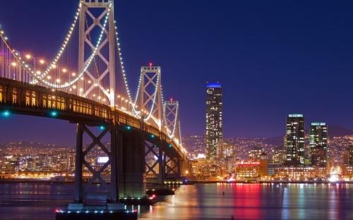 00El-Puente-Golden-Gate-San Francisco-en-la-Noche-California-USA