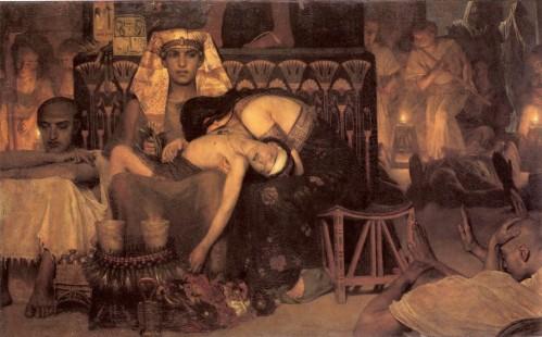 Alma-Tadema_muerte del primogénito